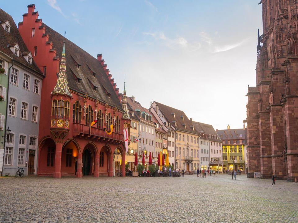 Landmark Cathedral Freiburg