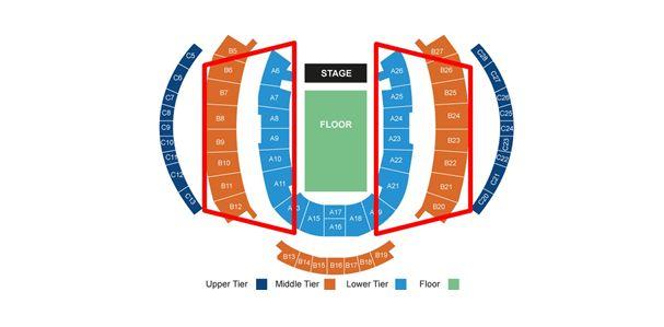 Sitzplatzplan