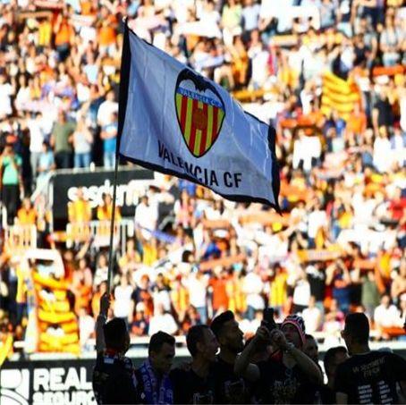 FC Valencia Fans Quadratisch