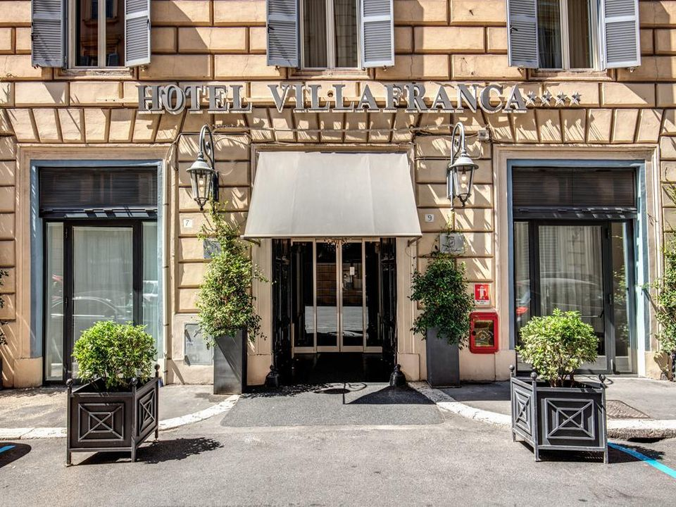 Hotel Villa Franca Aussenbereich