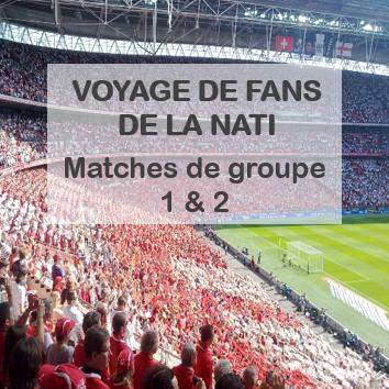 Voyage De Fans Matches De Groupe 1 2
