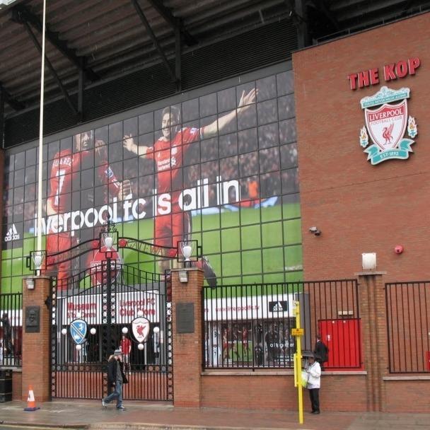 Anfield Stadium QUADRATISCH