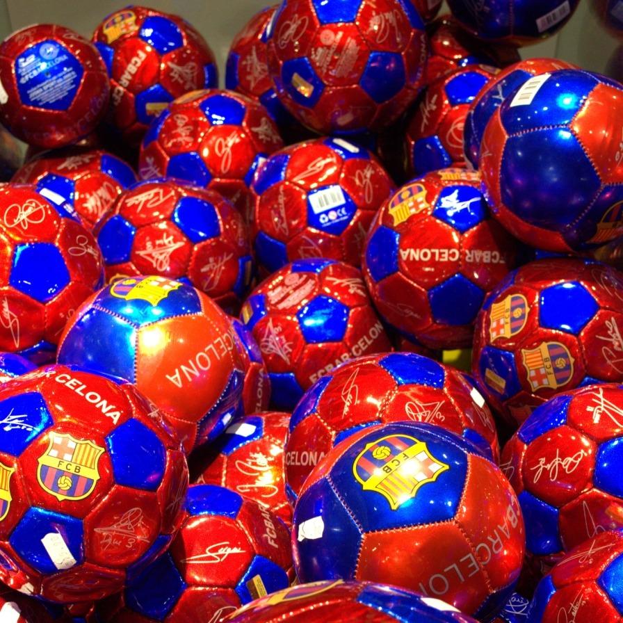 FCBarcelonaDreamstimeBallsQUADRATISCH