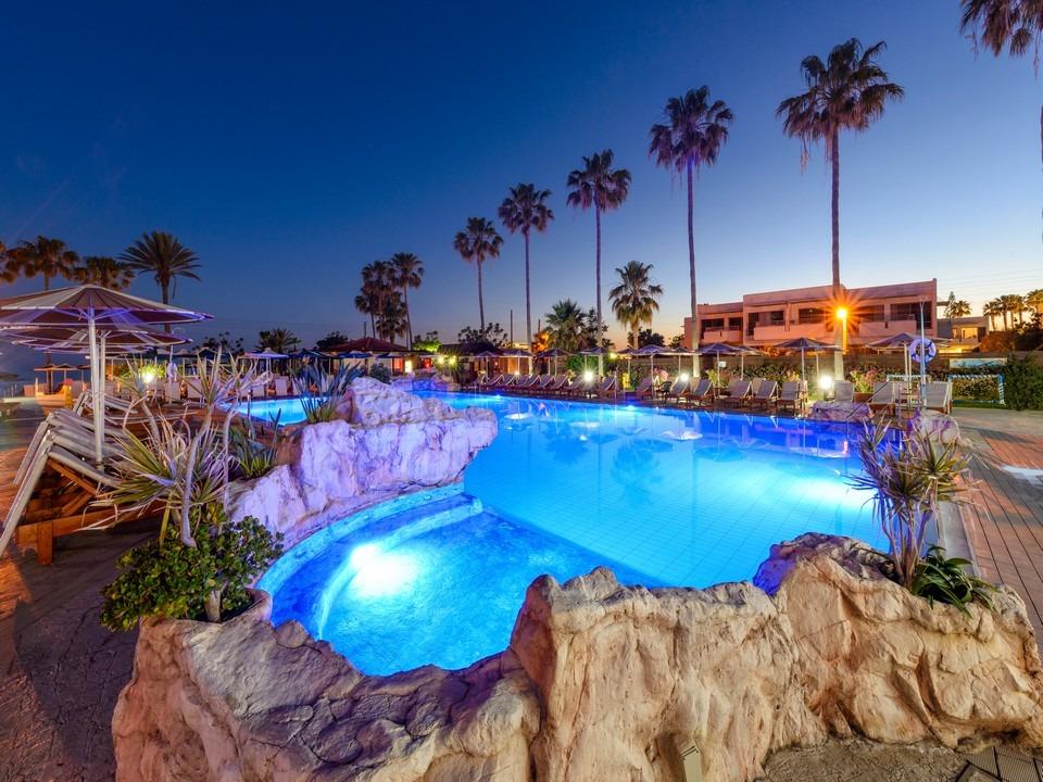 Pavlo Napa Beach Outdoor Pool By Night