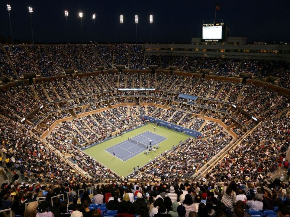 Banner Tennis Arthur Ashe By Night 2