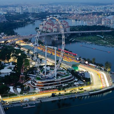 Formel1 Singapur QUADRATISCH