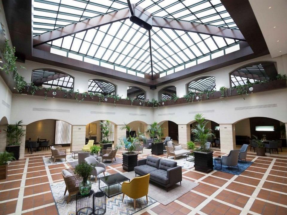 Intur Castellon Central Courtyard