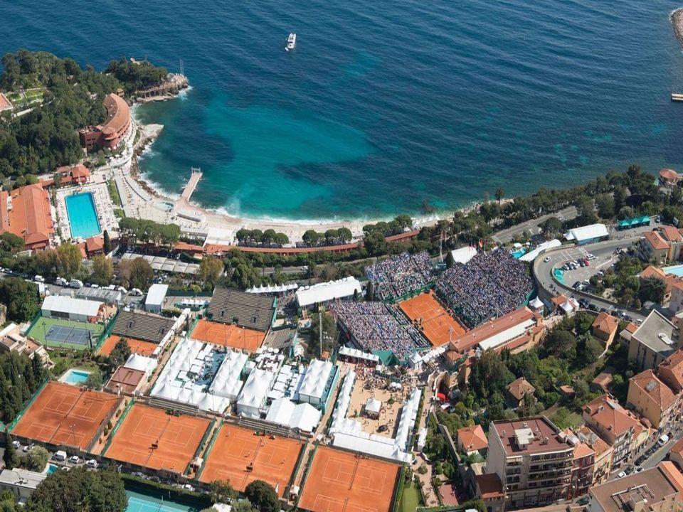 Monte Carlo Masters Luftansicht