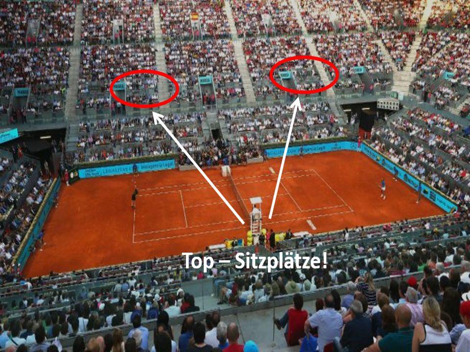 Sitzplätze Court Mutua Madrid