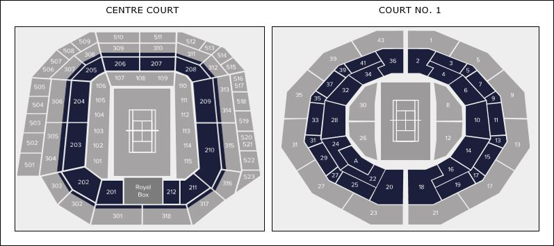 Debenture Seating Map CC & C1