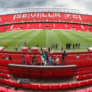 FC Sevilla Stadion Quadratisch