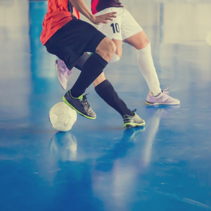 Football Indoor Quadratisch