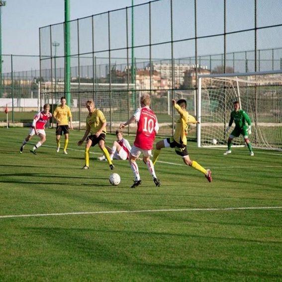 Trainingslager Fussbal Quadratisch