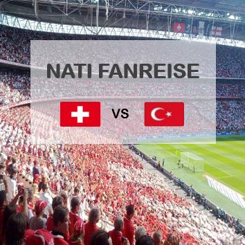 Nati Fanreise Schweiz Türkei