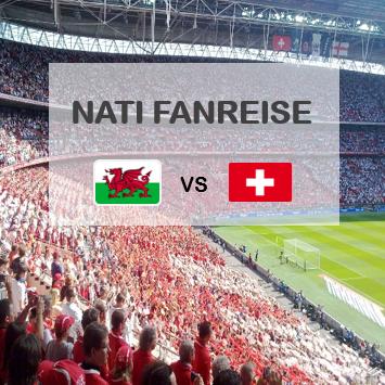 Nati Fanreise Wales Schweiz